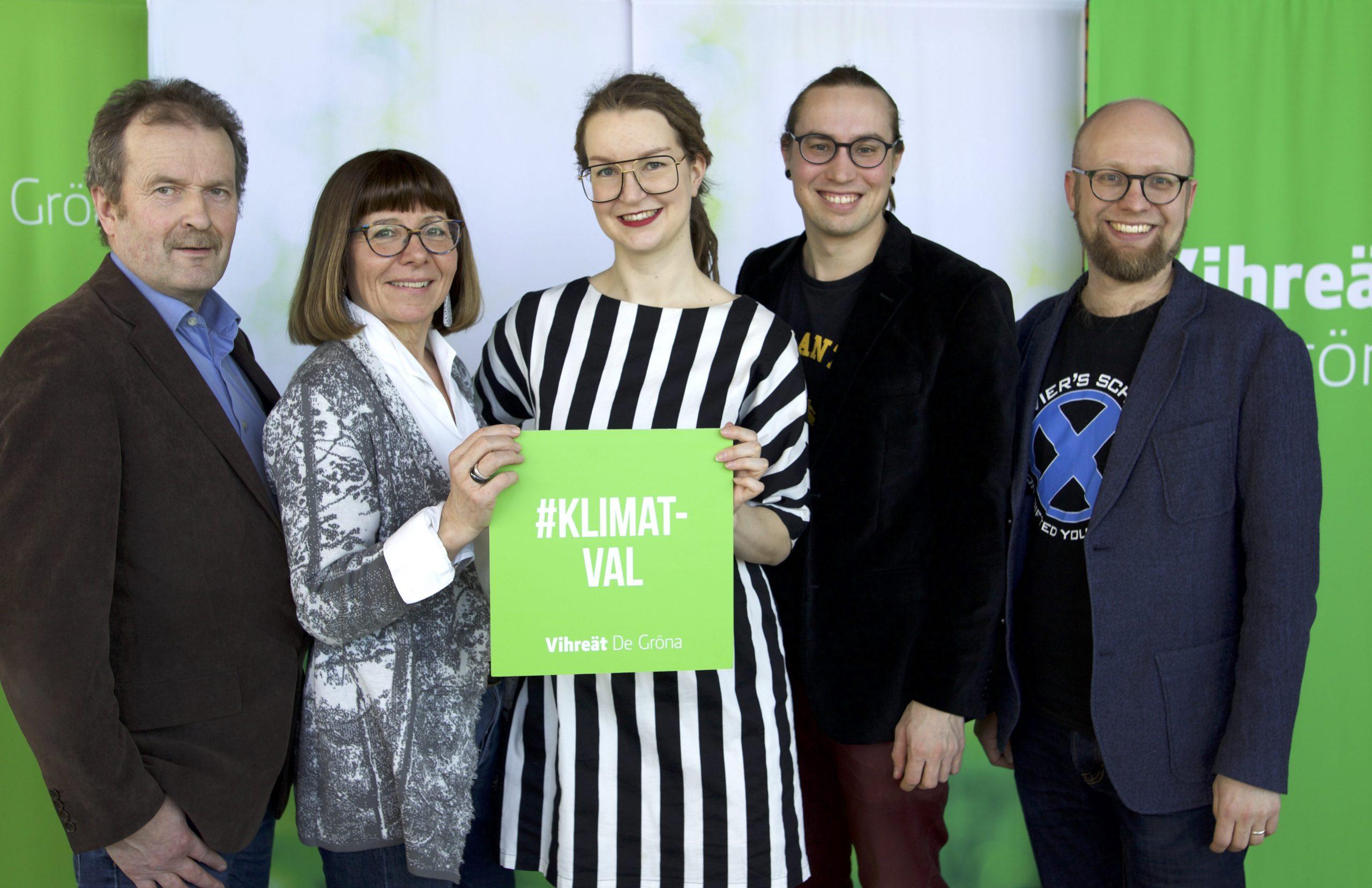 Vihreiden Eurovaaliehdokkaat