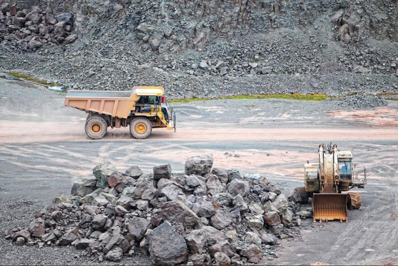Kaivostoimintaa